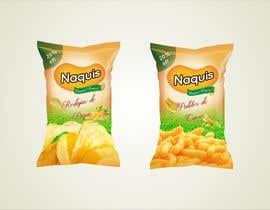 #9 untuk Print & Packaging Design for Snacks and logo for Ñaquis Snacks oleh jameelrizvi