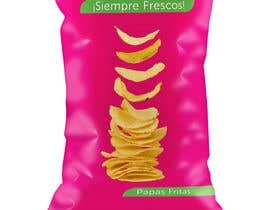 #49 untuk Print & Packaging Design for Snacks and logo for Ñaquis Snacks oleh estheranino1