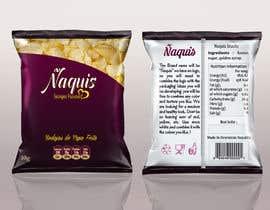 #55 untuk Print & Packaging Design for Snacks and logo for Ñaquis Snacks oleh Med7008