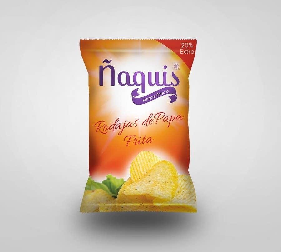 Konkurrenceindlæg #2 for Print & Packaging Design for Snacks and logo for Ñaquis Snacks