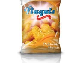 #38 untuk Print & Packaging Design for Snacks and logo for Ñaquis Snacks oleh abhikreationz