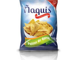 #50 untuk Print & Packaging Design for Snacks and logo for Ñaquis Snacks oleh abhikreationz