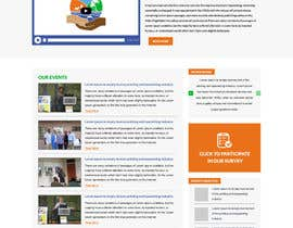 #21 for Design a Website home page p15 by gravitygraphics7