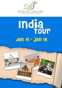 #20 for India Tour Flyer (regular A4 size) af msdvenkat