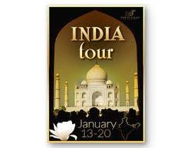 #11 for India Tour Flyer (regular A4 size) af Ismene