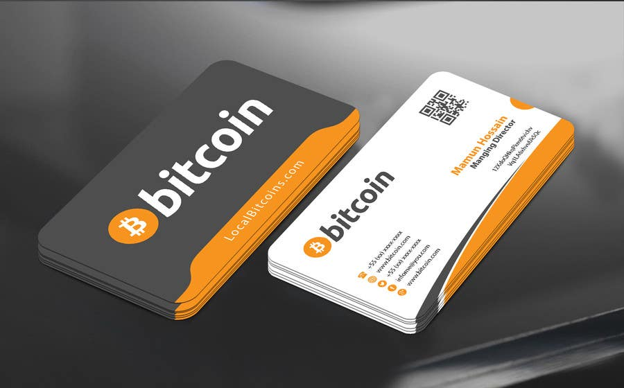 Entry 37 by mamun313 for design 10 business cards for bitcoin contest entry 37 for design 10 business cards for bitcoin colourmoves
