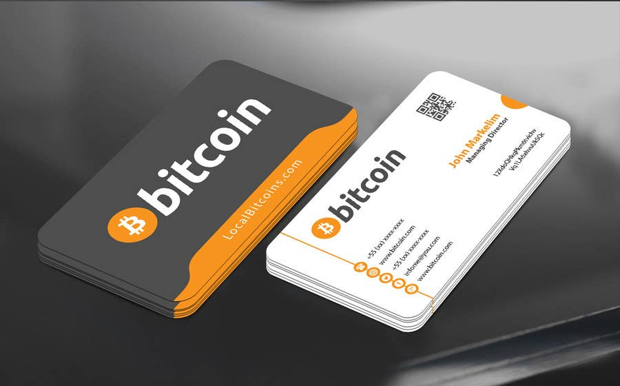 Entry 48 by mamun313 for design 10 business cards for bitcoin contest entry 48 for design 10 business cards for bitcoin colourmoves