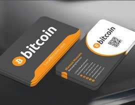 #58 cho Design 10 Business Cards for Bitcoin bởi mamun313