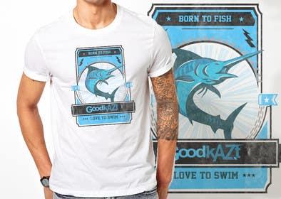 #1 for Fishing T Shirt af ezaz09