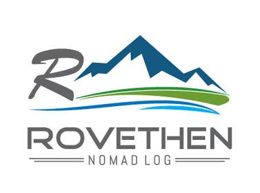 #34 untuk Digital Nomad Adventure - Logo for Blog and Youtube Channel - rovethen.com oleh mogado