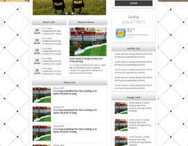 #6 untuk Design a Government Website Front/Home Page oleh bellalbellal25