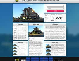 #7 untuk Design a Government Website Front/Home Page oleh yzzo63