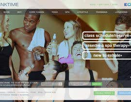 #7 for Design a Website Mockup for http://www.kinktime.com by giorgadzeoto