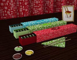 #25 untuk Design Package for a Sushi Fast Food service!!!!!!!! oleh karakak