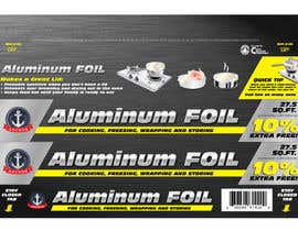 #7 untuk Create Print and Packaging Designs for ALUMINUM FOIL PACKAGE oleh eliespinas