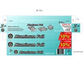 #9 untuk Create Print and Packaging Designs for ALUMINUM FOIL PACKAGE oleh hammad143