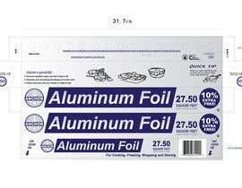 #2 para Create Print and Packaging Designs for ALUMINUM FOIL PACKAGE por CBDesigns101