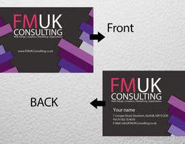 #28 untuk Design a leaflet and business card for FMUK Consulting oleh Balvantahir