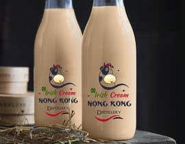 #988 untuk Design a logo and bottle label for Hong Kong Distillery Irish cream oleh Xakephp