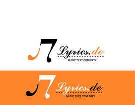 #14 for design a logo for the music text comunity lyrics.de by Dckhan