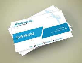 #7 for personal training business cards by wpdtpg