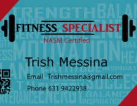 #9 for personal training business cards by petersamajay