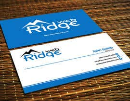 #7 untuk Design some Business Cards for Ridge Web oleh Tommy50