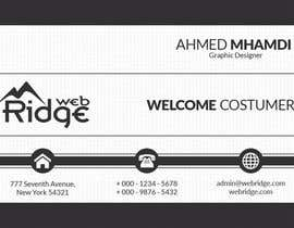 ahmedmhamdi97 tarafından Design some Business Cards for Ridge Web için no 19