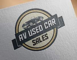 vanlesterf tarafından Design a  Logo Mockup for AV Used Car Sales için no 84