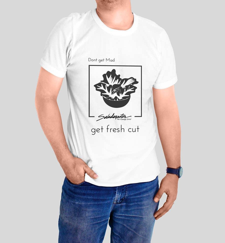 Penyertaan Peraduan #5 untuk Design a T-Shirt for work 3