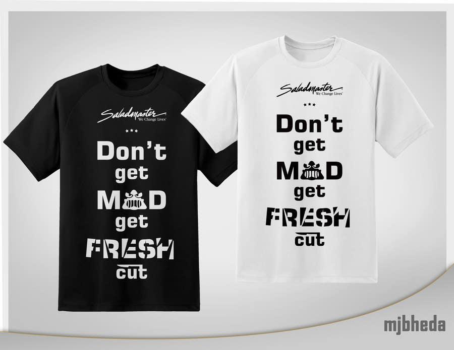 Penyertaan Peraduan #8 untuk Design a T-Shirt for work 3