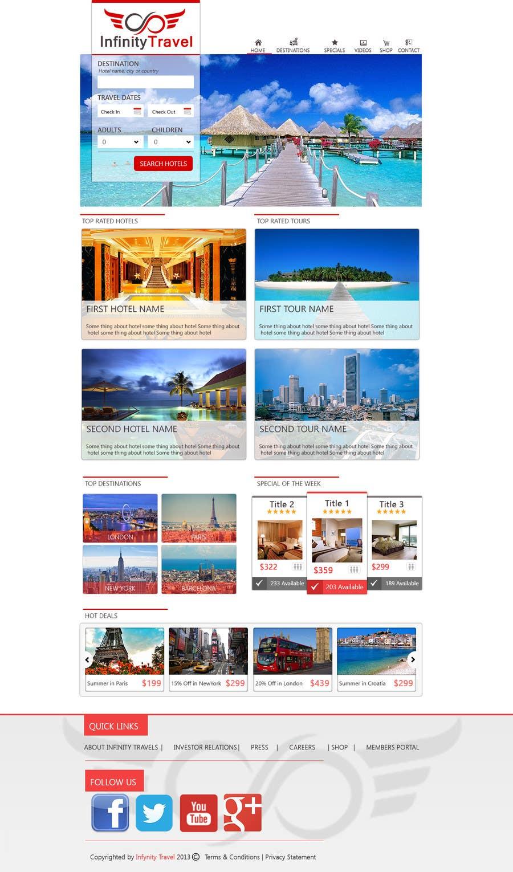#16 for Design a Website Mockup for Tourist Agency by dinhnp