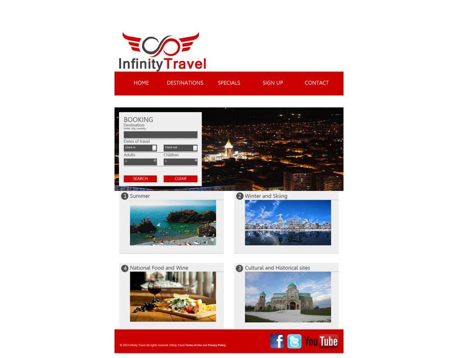 #10 for Design a Website Mockup for Tourist Agency by salecasanova