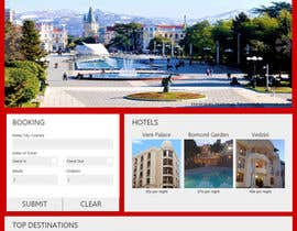 #11 untuk Design a Website Mockup for Tourist Agency oleh salecasanova