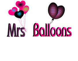 "#92 untuk Design a Logo for my business ""MRS BALLOONS"" oleh csabiblack"