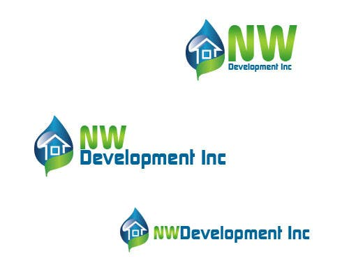Contest Entry #14 for Logo for New Real Estate Development Company - Company name is NW Development Inc
