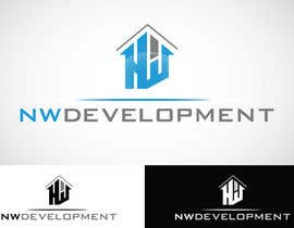 Agumon26 tarafından Logo for New Real Estate Development Company - Company name is NW Development Inc için no 77