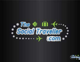 #143 for Logo Design for TheSocialTraveller.com by Sidqioe