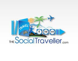 #224 για Logo Design for TheSocialTraveller.com από pupster321