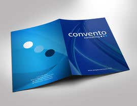 #14 for A4 promotional folder design a management consulting company. by gohardecent