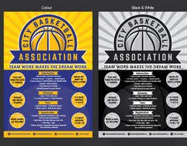 #9 untuk Design a Flyer for Basketball League oleh MMmahesh