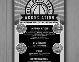 #21 untuk Design a Flyer for Basketball League oleh tenachico