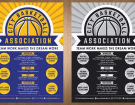 #11 untuk Design a Flyer for Basketball League oleh teAmGrafic