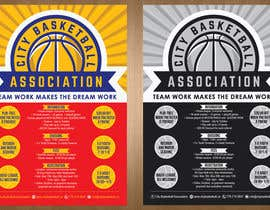 #12 untuk Design a Flyer for Basketball League oleh teAmGrafic