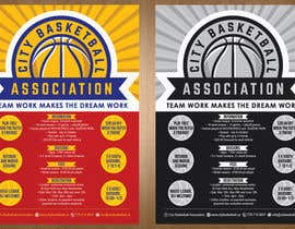 #13 untuk Design a Flyer for Basketball League oleh teAmGrafic