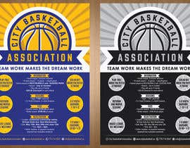#17 untuk Design a Flyer for Basketball League oleh teAmGrafic