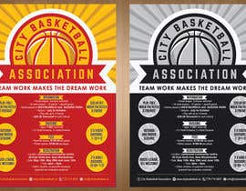 #19 untuk Design a Flyer for Basketball League oleh teAmGrafic