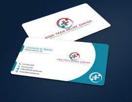 #47 untuk Design some Business Cards for High Tech Relief Center oleh ALLHAJJ17