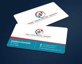 #50 untuk Design some Business Cards for High Tech Relief Center oleh ALLHAJJ17
