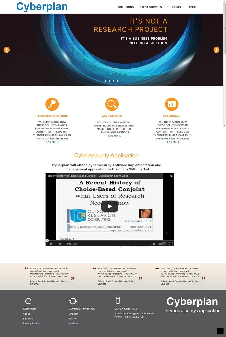 Penyertaan Peraduan #5 untuk Create a joomla Template for CYBERPLAN
